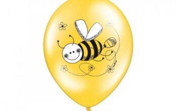 balon z pszczółą